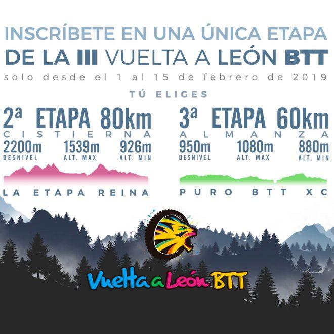 Flyer promoción con descripción de las etapas