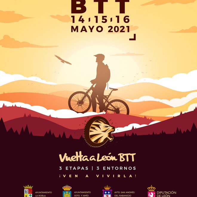 Poster Promocional Vuelta a León 2021