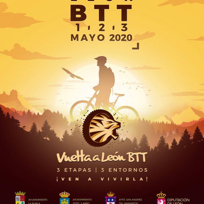 Poster Promocional Vuelta a León 2020