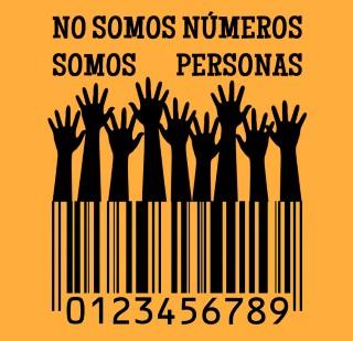 No somos números, somos personas