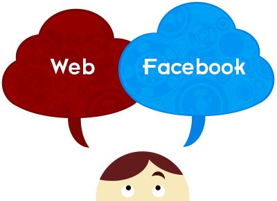 Sitio Web o Fb?