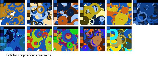 El Color: Combinaciones Armónicas