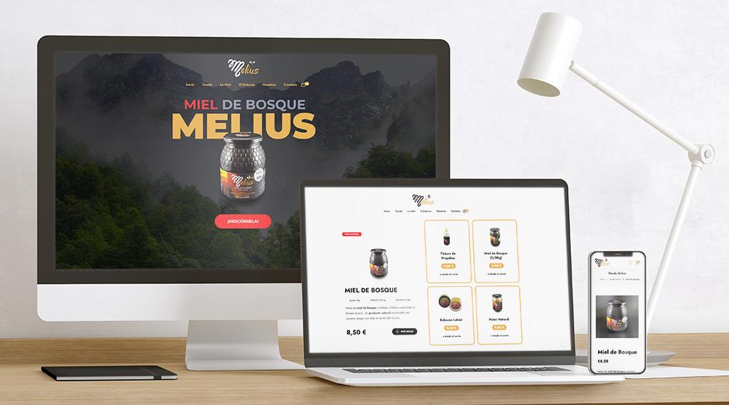 Apimelius: Tienda Online